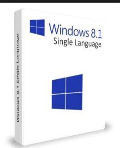 Formatlık Windows 8.1 Single Language Aralık İndir Türkçe